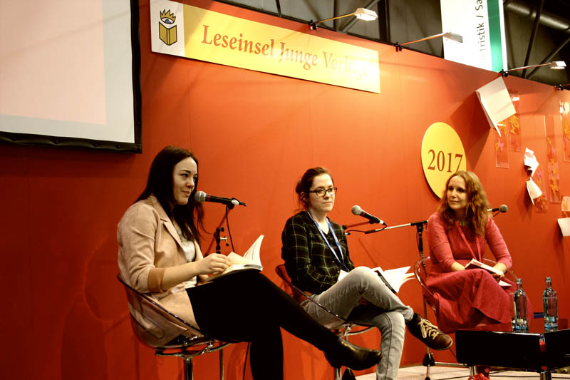 Katharina Herrmann, Sophie Weigand und Sarah Reul