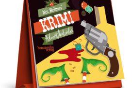 Mr. Holmes' Krimi-Adventskalender mit Fällen zum Miträtseln