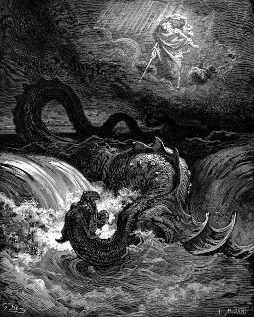 Leviathan nach Gustave Doré