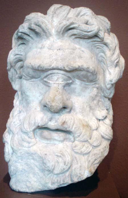 Polyphem, Marmor