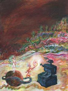 Knallmasse-Gemälde