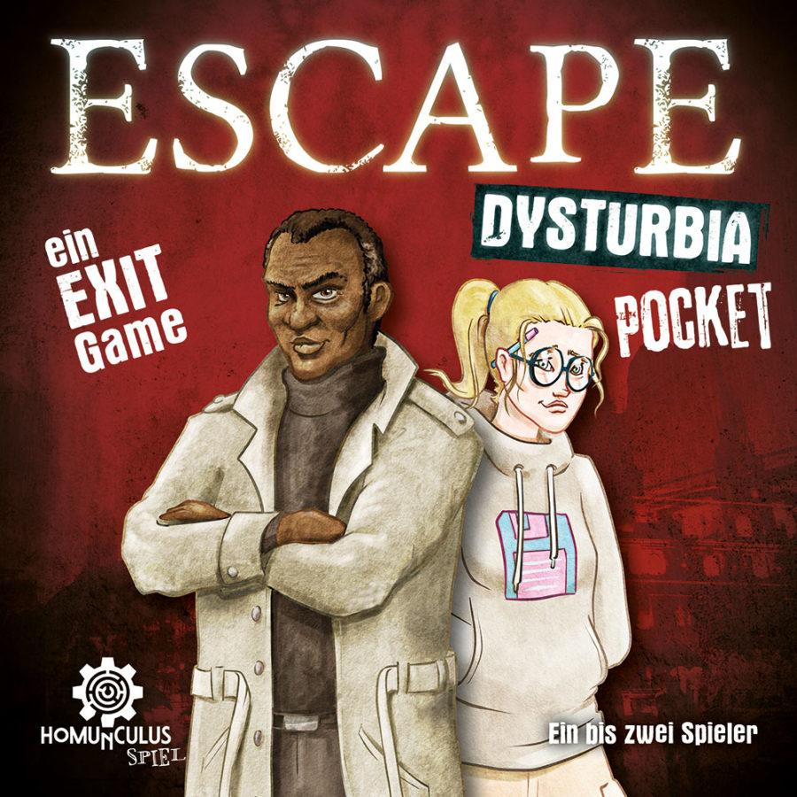 ESCAPE Dysturbia Pocket: Angus & Ada   Cover