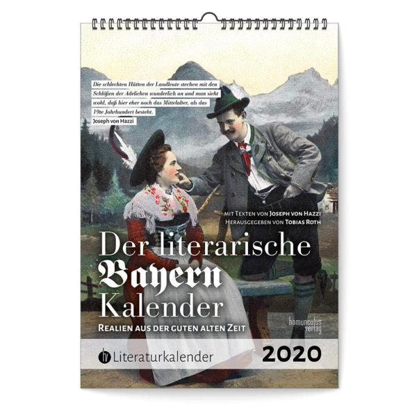 Cover: Der literarische Bayern-Kalender 2020