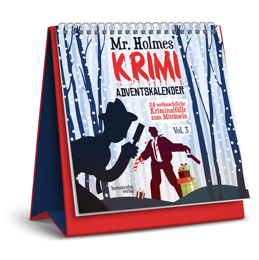 Mr. Holmes' Krimi-Adventskalender Vol. 3