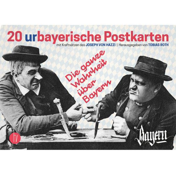 Postkartenset Bayern mit Kraftsätzen des Joseph von Hazzi