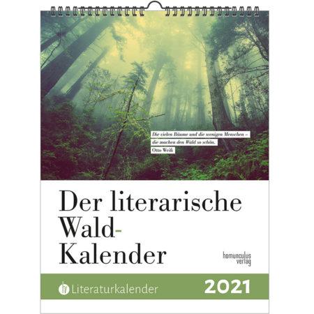 Cover: Literarischer Wald-Kalender 2021